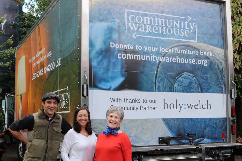 Boly:Welch Sponsors Community Warehouse Truck!