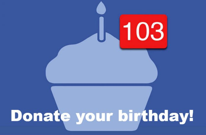 Donate your birthday love to your favorite nonprofit!