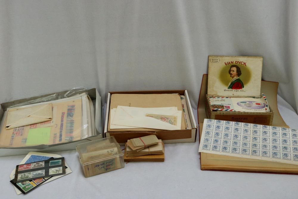 Huge Collection Of 16800 Stamps For Sale At The Portland Estate