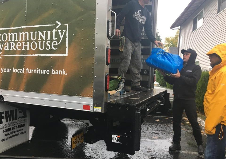 Community Warehouse and RAIN International partner for refugee aid